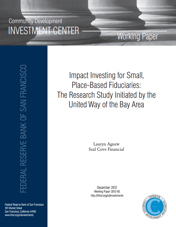Impact Investing for Small, Place-Based Fiduciaries